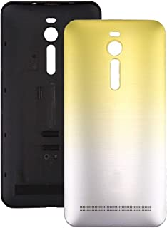 Lucia's Pick For Asus Zenfone 2 / ZE551ML Gradient Back Battery Cover (Blue) (Color : Yellow)