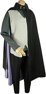 qingning Borutoe Cosplay Anzug Cape Umhang Robe Uchiha Sasukere Mantel Anime Halloween Party Kostüm