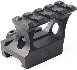 Higoo 45 Degree Angled Forward Extending 20mm Picatinny Riser, Tactical 1