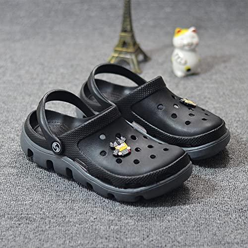 Perferct Zuecos Mujer,Zapatillas De Moda Femeninas De La Playa, Plano con PVC Resistente Al Desgaste Inferior, Sandalias De Cabeza, Paseo MaríTimo De JardíN Zapatos De BañO-I 36 (23cm / 9.05')_Norte
