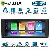 Ohok 10.25' Autoradio Android 9.0 pour BMW 5/X5 1 Din 8-Core Stéréo Unité de tête...