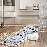 medisana MBH Luftsprudelbad, Whirlpoolmatte mit Aromaspender, 3 Intensitätsstufen, für jede Badewanne geeignet, mit Fernbedienung, für die Lockerung von verspannter Muskulatur, - 2