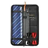 BIGWING Style-Estuches para Corbata Organizador Corbata de Lazo 42 x13 x2 CM, Negro