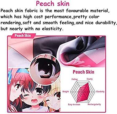 Made in Abyss Nanachi Anime Pillowcase 180cm x 60cm(70.9in x 23.6in) Peach Skin Hugging Body Pillow Case Cover