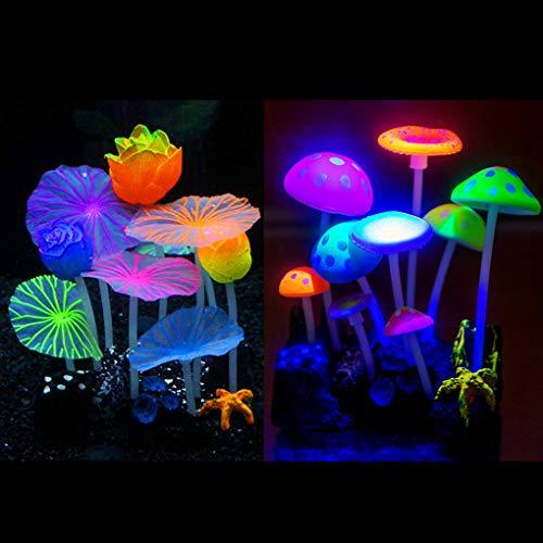 Aquarium Landscape Decoration, Fish Tank Simulation Coral Plant Decorations...