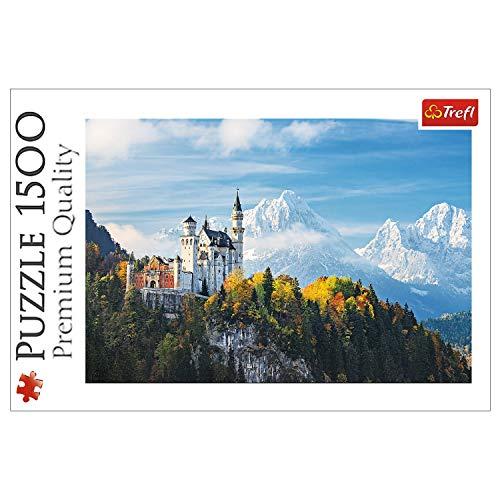 Trefl 26133 Puzzle Bayern Alpen, 1500 Teile, Farbig