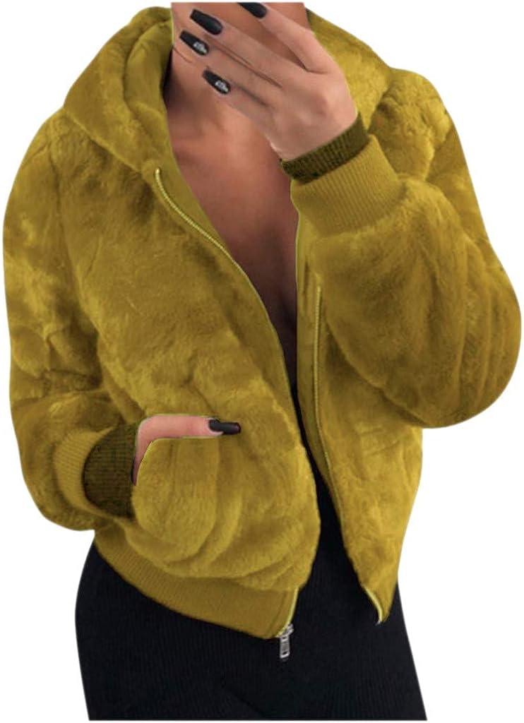 Teddy Bear Jacket, NRUTUP Bomber Jacket for Women, Luxe Winter Jacket, Faux Fur Cropped Jacket, Cute Warm Biker Jacket