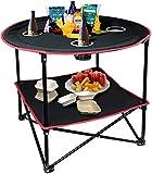 YiYueTrade Campingtisch, tragbar, leicht, faltbar, Picknick-Tisch mit Tragetasche, ideal für...