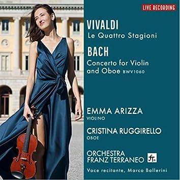 A. Vivaldi: Quattro Stagioni - J.S. Bach: Oboe and Violin Concerto in D Minor, BWV 1060 (Live)