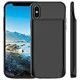 iPhone XS/X Battery Case, Vproof 6000mAh Portable Charger Rechargeable Charging Case External B…