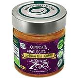 Le Terre di Zoè Compotas italianas orgánicas Clementina y regaliz, 400 g