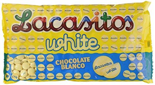 Lacasitos White Grageas de Chocolate - 1000 gr