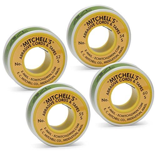 Mitchell Abrasives 53 Round Abrasive Cord Aluminum Oxide 180 Grit .040 Diameter x 25 Feet Aluminum Oxide 180 Grit .040 Diameter x 25 Feet E.C 53A-25 Mitchell Inc