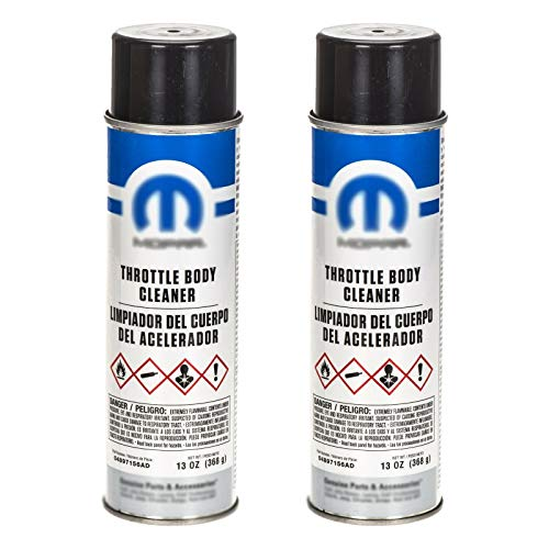 Fit for JР DОDGЕ СНRYSLЕR R.А.М. FІАТ (2) 15 ОZ AEROSOL Spray Throttle Body Cleaner МРR