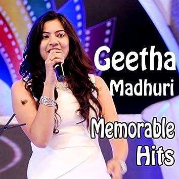 Geetha Madhuri Memorable Hits (Original Motion Picture Soundtrack)