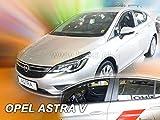 J&J AUTOMOTIVE Derivabrisas para Opel Astra V K 5 puerta 2015-2020 HTB 4 piezas