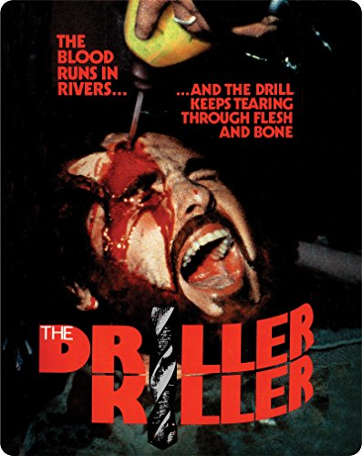 Driller Killer, The (Limited Edition Steelbook) [Blu-ray + DVD]