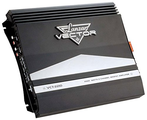 Lanzar VCT2210 - Amplificador Mosfet 2 canales alto
