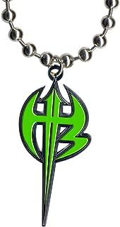 WWE Jeff Hardy Green Logo Pendant
