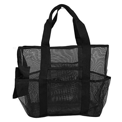 Bolsa de juguete, bolsa de red de playa, bolsa de red para deportes acuáticos, bolsa de red grande para buzos de playa, bolsa de red para deportes acuáticos, bolsa de juguete con múltiples bolsillos