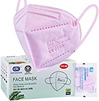 ctc connexions 20 Stück FFP2-Maske , CE0598-Zertifizierung EN149:2001+A1:2009, 5-Lagige Staubmaske...