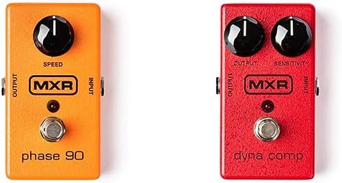 MXR M101 Phase 90 Guitar Effects Pedal & MXR Dyna Comp Guitar Effects Pedal (M102)