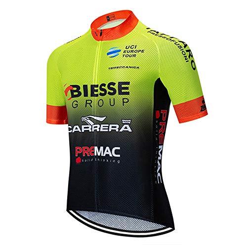 STEPANZU Abbigliamento MTB Estivo Uomo Camicia Ciclismo Traspirante Asciugatura Rapida T-Shirt MTB Maglia Ciclismo Professionisti
