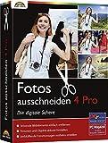 Markt und Technik Fotos ausschneiden 4 PRO Vollversion, 1 Lizenz Windows Bildbearbeitung