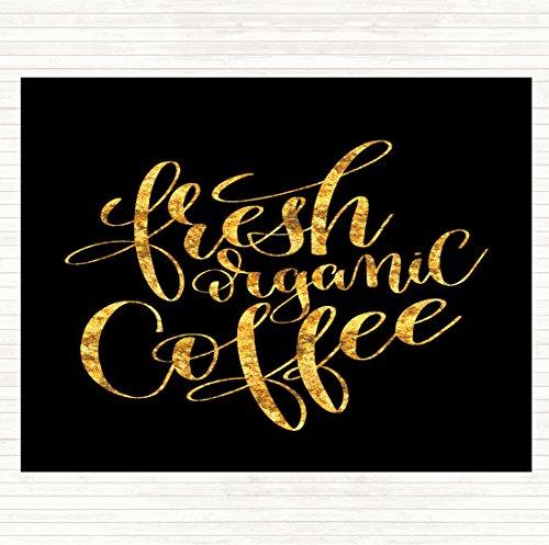 Verse Biologische Koffie Citaat Muis Mat Pad