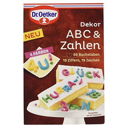 Dr. Oetker Dekor ABC & Ziffernung (1 x 58 g)