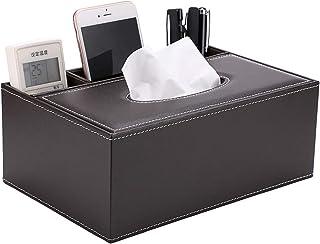 contenitore elegante con telecomando Contenitore multifunzione rettangolare per fazzoletti di carta per il viso com/ò casa tovaglioli ufficio per soggiorno grigio camera da letto