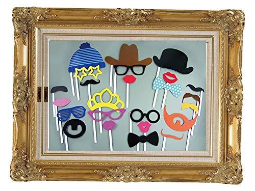 Wedding Decor Hochzeitsdekor PR-PRP-LF0024 WedDecor 24 Stück Bunte Requisiten Fun Photo Booth on Sticks DIY Lustig für Partys