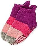 FALKE Unisex Kinder Socken, Colour Block Catspads K CP-12022, Violett (Crocus 6962), 35-38