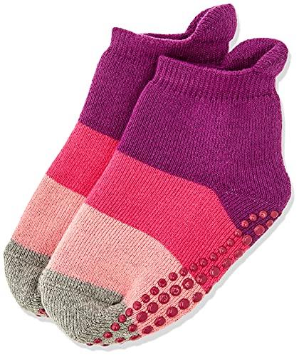 FALKE Unisex Kinder Socken, Colour Block Catspads K CP-12022, Violett (Crocus 6962), 31-34