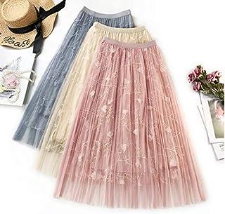La Foret Co.│シフォン スカート フレアスカート ロングスカート