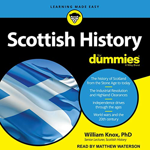Scottish History for Dummies audiobook cover art