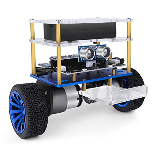 ELEGOO Tumbller Self-Balancing Robot Car Kit Compatible with Arduino IDE STEM Kits Toys for Kids Teens Adults (Blue)