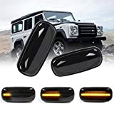 Dynamic Side Marker LED Side Indicator Repeater Sequential Turn Signal Light for 99-04 Dis...
