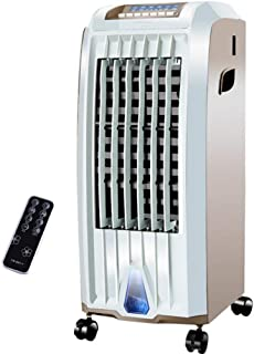 WENYAO Ventilador de Aire Acondicionado Doble frío y Caliente Control Remoto móvil Ventilador frío para el hogar 7.5H Temporización 5L Tanque de Agua (28 * 32 * 70cm)