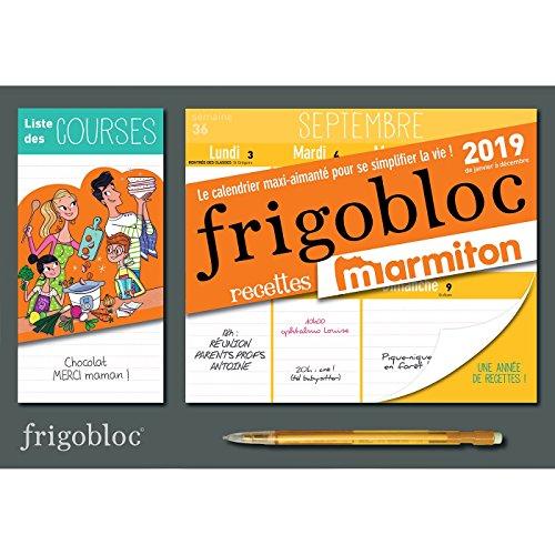 Mini Calendrier FrigoBloc hebdo Marmiton