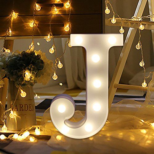 Letter Decor W/ LED Lights Battery Powered $6.00 (80% OFF Coupon)