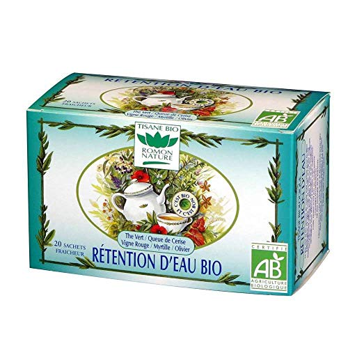 Romon Nature - Rétention d'eau Bio - 20 sachets