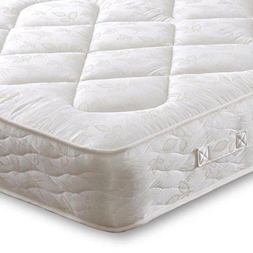 Cheap Beds Direct Morpheus - Materasso trapuntato a due lati, con cerniera e collegamento, 15 x 15 cm