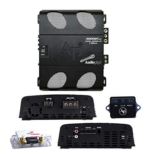 Mini Monoblock Amp 3000W Micro Amplifier 1 Ohm Stable Compact APHD-3000D-H1