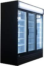 """67.3"""" Restaurant Refrigeration Equipment Cold Drink 3 Door Commercial Display Refrigerator Triple Swing Door Merchandiser Refrigerator 52 cu.ft. / 1483 L"""