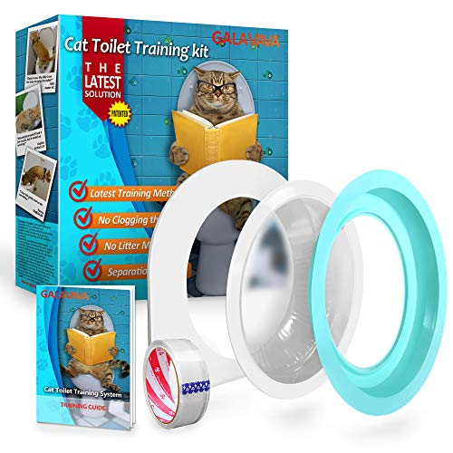 Galavava Cat Toilet Training System 2nd Generation - Teach Cat to Use Toilet
