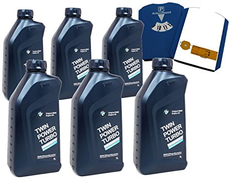 BMW 83 21 2 365 933-6-MFP TwinPower Turbo Motoröl LL-04 5W-30, (6 x 1 Liter) Plus MFP