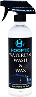 Hooptie - Waterless Car Wash and Wax for Autos, Boats, Automotive & More   No Grease Cleaning Solution for Windows, Cosmetic Body Work, Top Coats, Tires, Rims   Biodegradable Soap & Polish