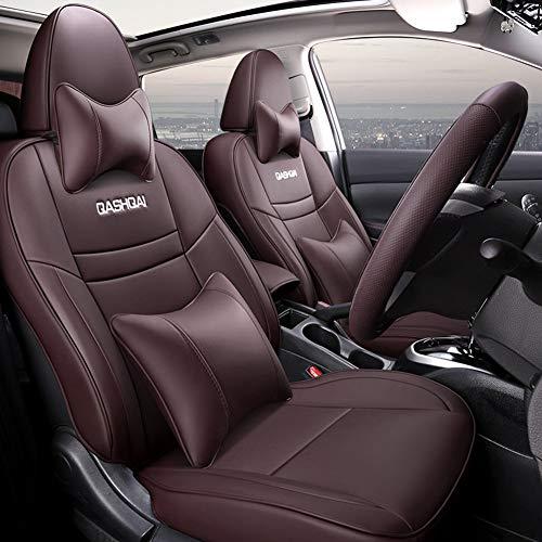 Set Completo Particolari Coprisedili Auto in Pelle,Per Nissan Qashqai Su Misura Set Copri Sedili Per...