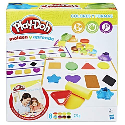 Play Doh - Aprende Colores y Formas (Hasbro B3404546)